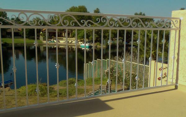 Mesa Fence, Mesa Wrought Iron Fencing, Iron Fence, Metal